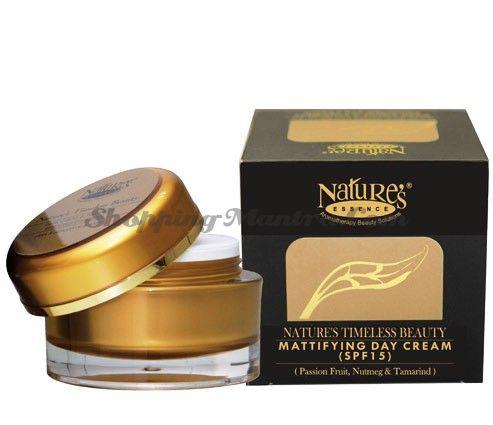 Матирующий дневной крем с защитой SPF15 / Nature's Essence Mattifying Day Cream