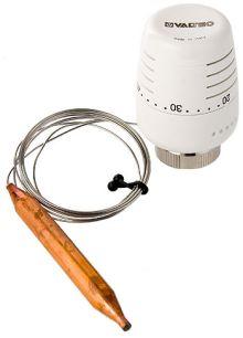 Термостатическая головка Valtec с выносным погружным датчиком