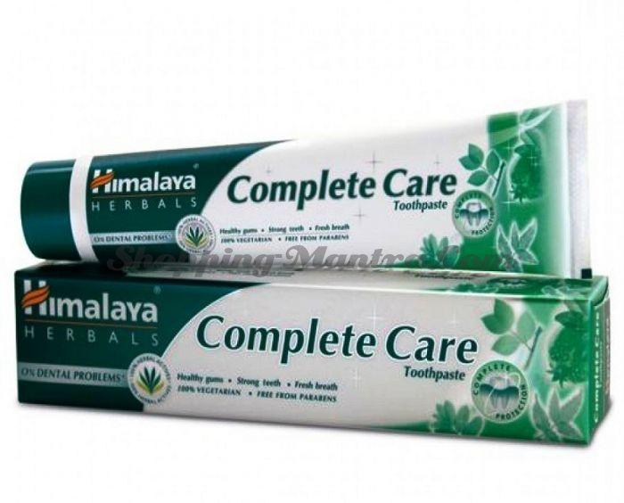Зубная паста Комплексный уход за полостью рта Хималая / Himalaya Complete Care Toothpaste