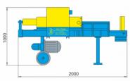 Колун (дровокол) гидравлический ПГП-6-1к