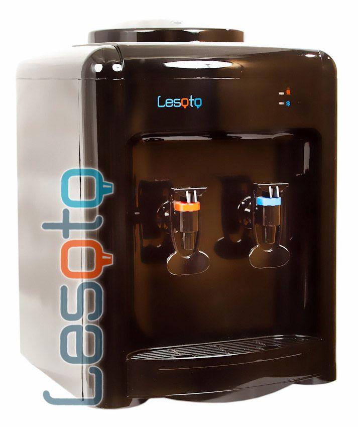 Кулер для воды Lesoto 36ТD c охлаждением. Черный цвет