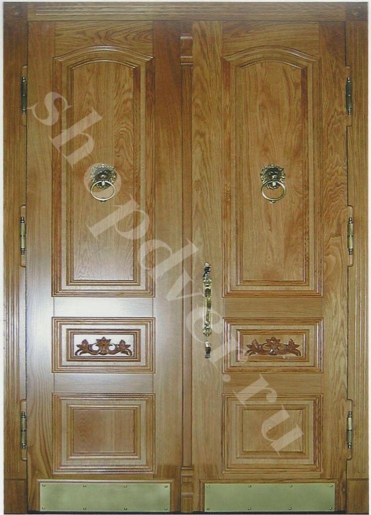 Двери из массива дерева в Москве под заказ от