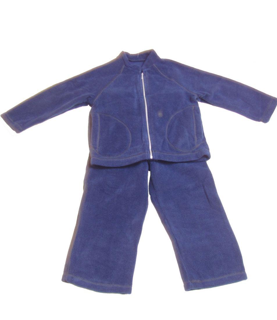 Флисовый костюм Темно-Синий