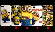 задняя крышка для iphone 4, 4s, 5 (миньоны)