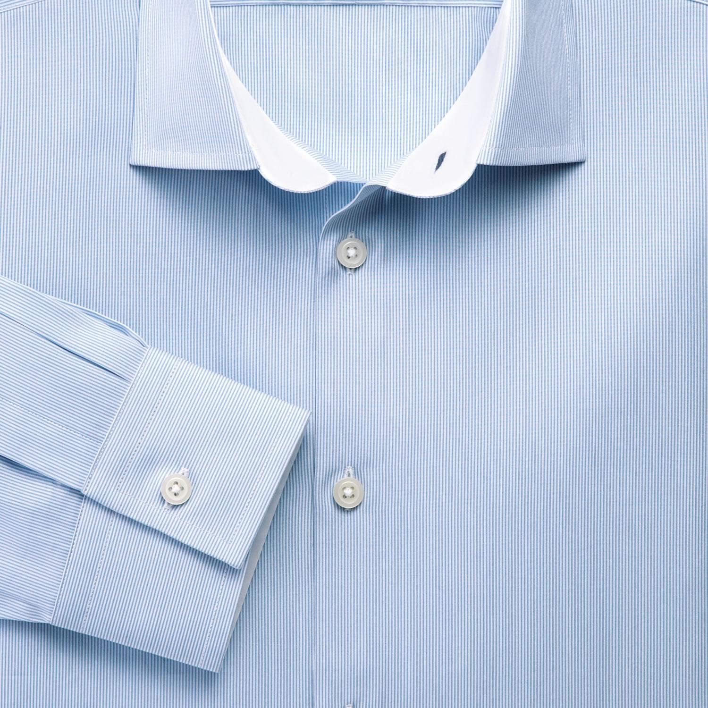 5bb30288fc6 Мужская рубашка синяя Charles Tyrwhitt сильно приталенная Extra Slim Fit