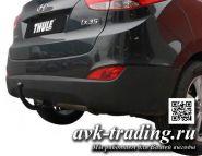 Фаркоп Thule 529400 для Hyundai ix35 2010- и Kia Sportage 4x4 2010-, быстросъёмный