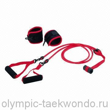 Эластичный шнур, резина, эспандер для комплексной работы рук и ног