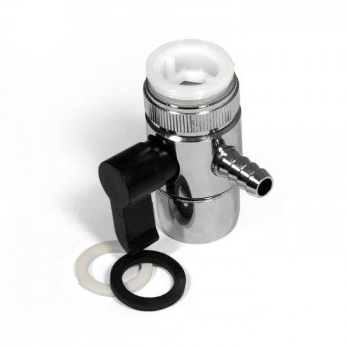 Переходник на кран, D 10,5 мм, под шланг 8-10 мм