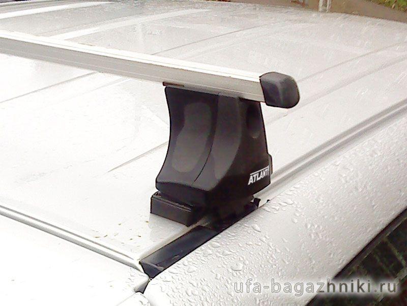 Багажник на крышу Toyota RAV4 2006-13, Атлант, прямоугольные дуги