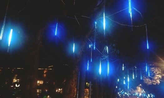 """Трубка """"Светодиодная сосулька"""" (Meteor Light): герметичная сосулька 0,5 м. 12 Вольт"""