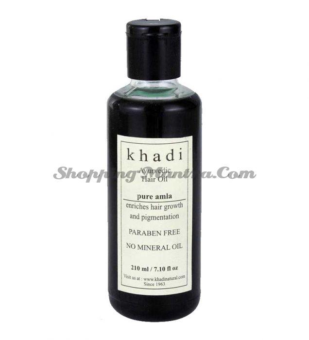 Укрепляющее масло для роста волос Амла Кхади без парабенов и минеральных масел / Khadi Natural Pure Amla Oil