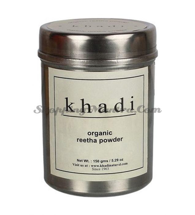 Ритха (Мыльный орех) в порошке для волос Кхади (Khadi Organic Reetha Powder)