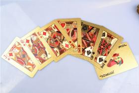 Позолоченные (24K) игральные карты
