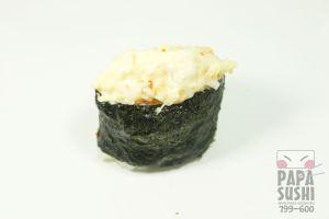 Запеченные суши с креветкой