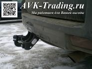 Фаркоп Brink 526200 для Toyota Land Cruiser Prado 150 и Lexus GX 460 с шаром типа F