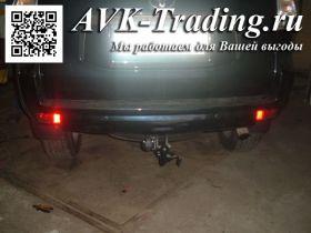 Фаркоп Brink 526100 быстросъёмный для Toyota Land Cruiser Prado 150 и Lexus GX 460 с крюком-автоматом BMA (Thule 526100)
