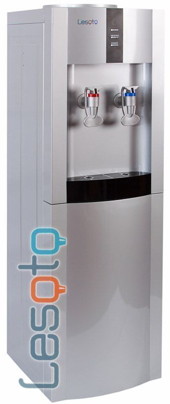 Кулер для воды LESOTO 16 L/E silver-black компрессор