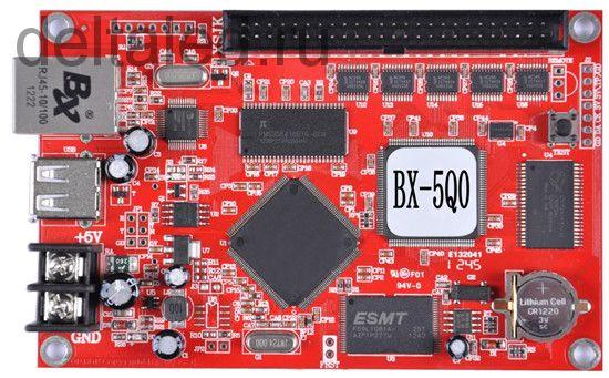 Контроллер десятирядный BX-5Q0 для одно и полноцветного табло