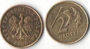2 гроша. 2008 год.  Польша.