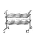 Тележка-стеллаж (тип 775 00 000-01)