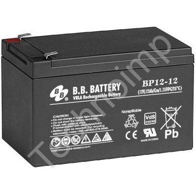 B.B. Battery BP 12-12 'Аккумуляторная батарея'