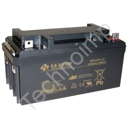 B.B. Battery BPL 65-12 'Аккумуляторная батарея'