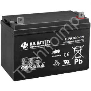 B.B. Battery BPS 100-12 'Аккумуляторная батарея'