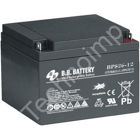 B.B. Battery BPS 26-12 'Аккумуляторная батарея'