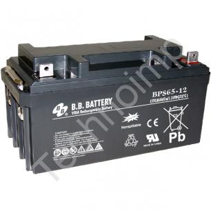 B.B. Battery BPS 65-12 'Аккумуляторная батарея'