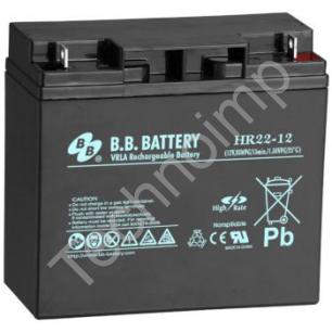 B.B. Battery HR 22-12 'Аккумуляторная батарея'