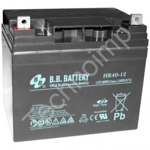 B.B. Battery HR 40-12 'Аккумуляторная батарея'