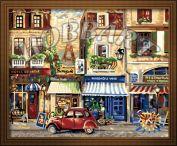 """Картина по номерам """"Окно в Европу"""" 40х50"""