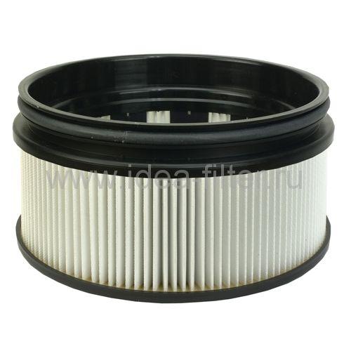 HMF 110 - патронный HEPA фильтр складчатый малый для пылесоса