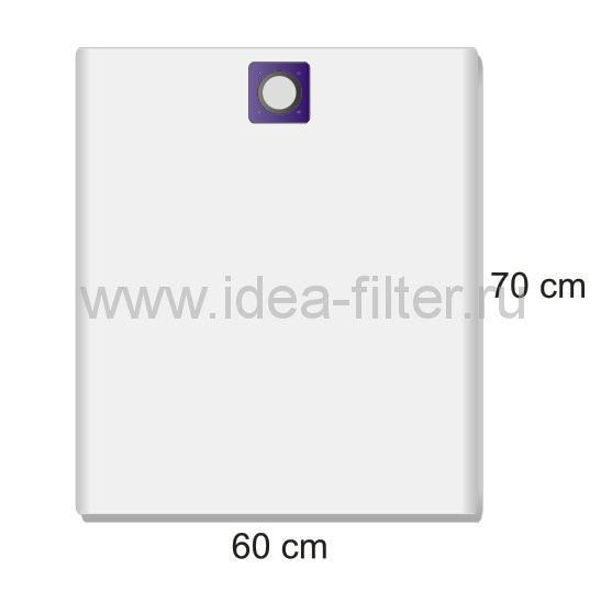 ROCK professional SB-C11 многоразовый тканевый мешок для пылесоса SOTECO - 1 штука