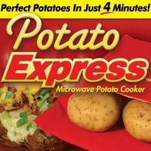 Мешочек для приготовления картофеля в микроволновой печи Potato Express
