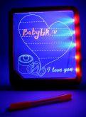 LED Доска для рисования Красная