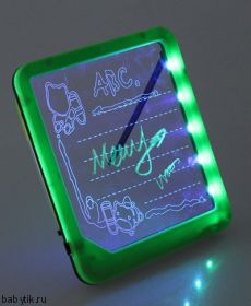 LED Доска для рисования Зеленая