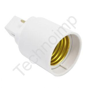Reyea G24-E27 'Переходник для ламп, 2 контакта'