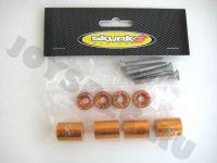 Проставки для поднятия капота  Skunk2 Золотые