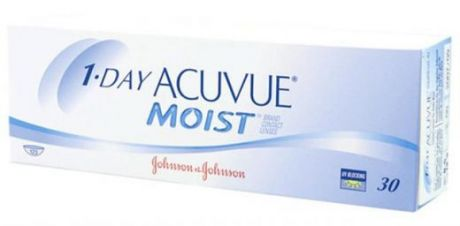 1-Day Acuvue Moist 30 pk (Радиус кривизны: 8,5, Рефракция: -8,50)