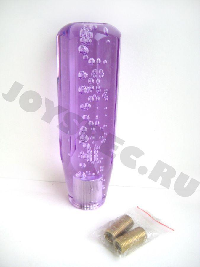 Ручка КПП с гранями, 150мм. Фиолетовая