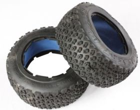 "HPI Baja 5T rear off-road ""DESERT BUSTER"" tire set"