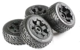 "HPI Baja 5B highway-road ""TARMAC BUSTER II"" wheel set"
