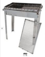 Мангал с решеткой барбекю 700*300*150 3 мм