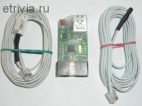 Термометр + гигрометр + барометр с интерфейсом ethernet. Small Meteo v2.