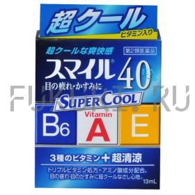 Глазные капли Lion Smile 40 Super Cool 13ml