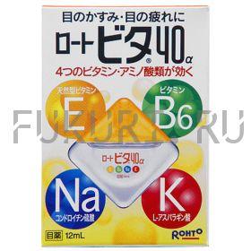 Глазные капли ROHTO Vita 40-alfa 12ml
