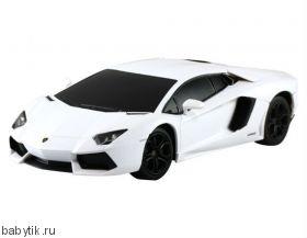 Р/у машина Lamborghini Aventador (1:24) Rastar Белый