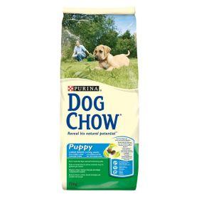 DOG CHOW PUPPY для щенков крупных пород Индейка 14 кг