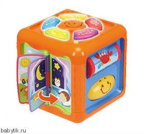 Развивающая кубик-книжка Winfun
